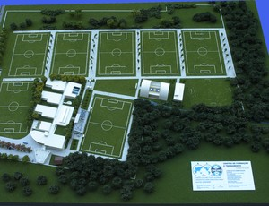 grêmio ct arena centro de treinamentos projeto base eldorado (Foto: Divulgação/Grêmio)