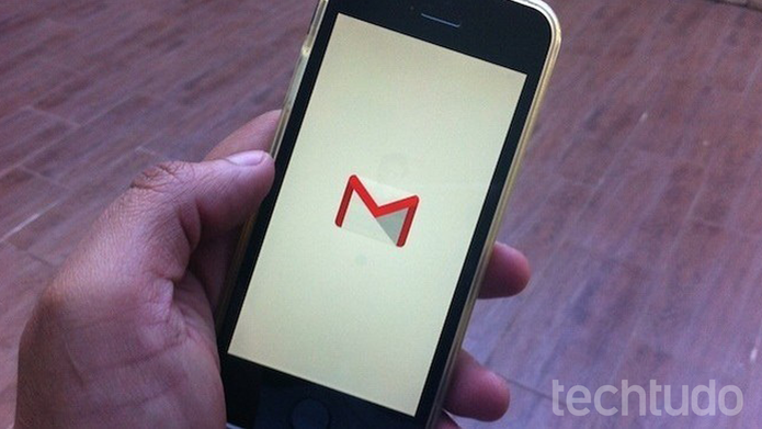 Como cancelar o envio de email no Gmail para iPhone (Foto: Marvin Costa/TechTudo)