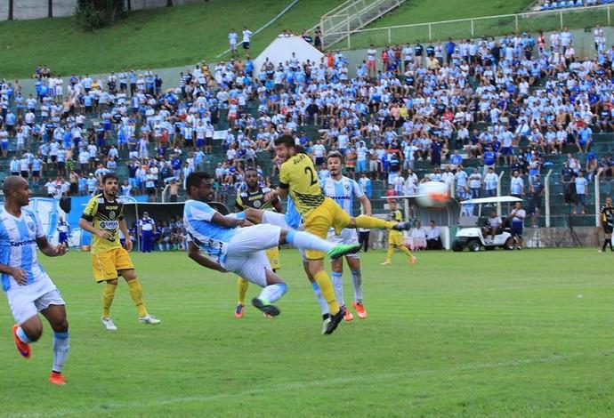 Silvio gol Londrina (Foto: Wellington Ferrugem/Londrina Esporte Clube)