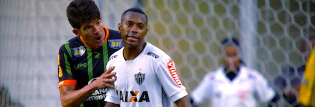 Em jogo tenso e emocionante, América-MG sai na frente do Atlético-MG na final do Mineiro
