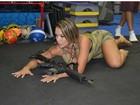 Gil Jung faz treino com preparador treinado pela SWAT: 'Intenso'