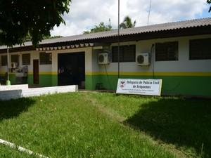 Delegacia Regional de Ariquemes (Foto: Eliete Marques/G1 RO)