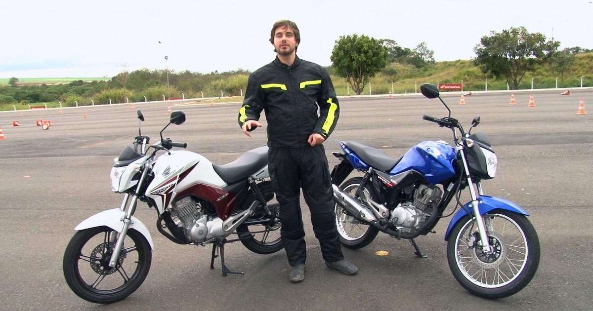 f819b161d G1 - Primeiras impressões  Honda CG 150 Fan e Titan - notícias em Motos