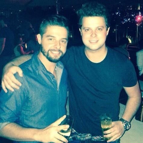 Os irmãos Henrique e Diego Ramiro (Foto: Reprodução da internet)