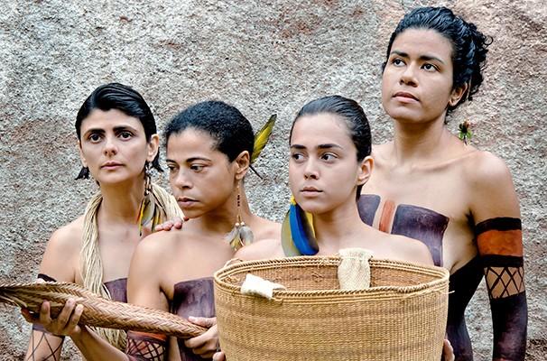 Emilia, Débora, Marise e Rachel formam o elenco do espetáculo (Foto: Divulgação)