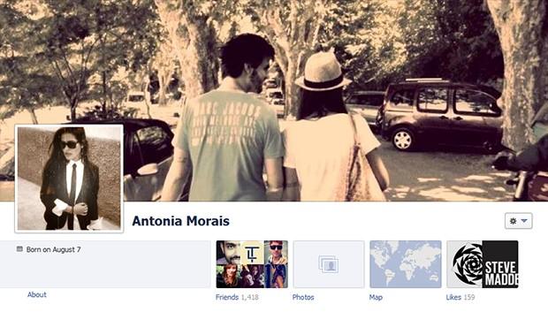 Antonia Morais (Foto: Facebook/Reprodução)