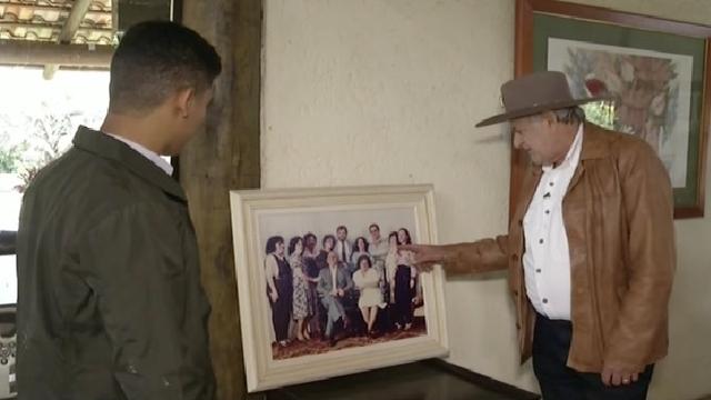 Sérieda Inter TV conta história do prefeito eleito Sebastião Quintão (Foto: Reprodução/Inter TV)