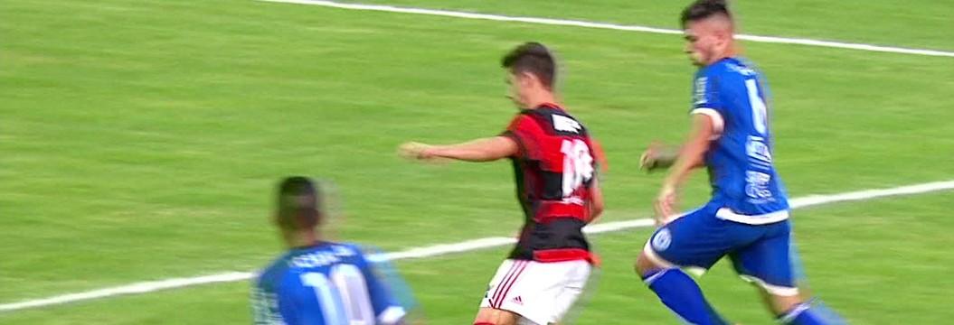 São Bento x Flamengo - Copa SP de Futebol Júnior 2017 - globoesporte.com 2952dd1f38271