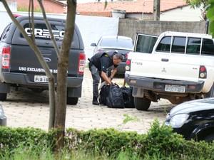Policiais cumprem mandados na capital e no interior do Piauí (Foto: Divulgação/Polícia Civil)