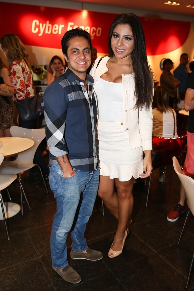 Thammy e Andressa Ferreira (Foto: Manuela Scarpa / Photo Rio News)