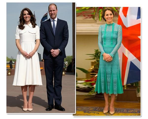 O truque de Kate Middleton para usar vestido midi sem achatar a silhueta