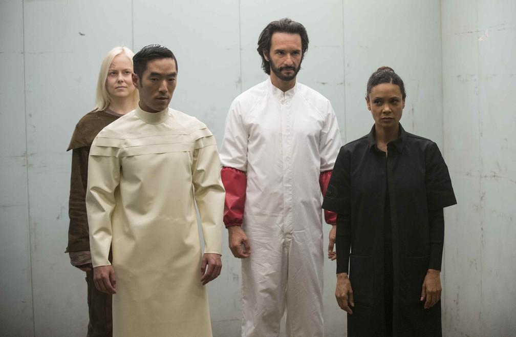 Cena da primeira temporada de 'Westworld' (Foto: Divulgação/HBO)