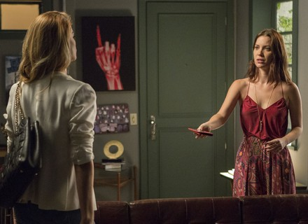 Diana põe Gui e Júlia contra a parede após descobrir segredo