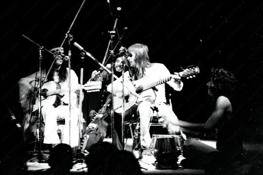 Os Mutantes sem Rita Lee no show Phono 73, o último da banda clicado por Leila (Foto: Leila Lisboa)