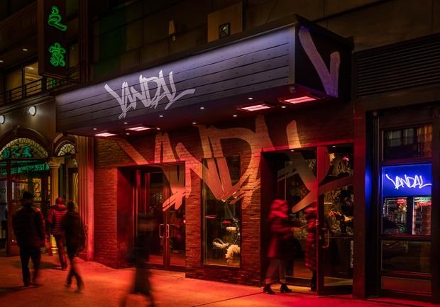 Restaure em Nova York é decorado com arte de rua (Foto: Divulgação)