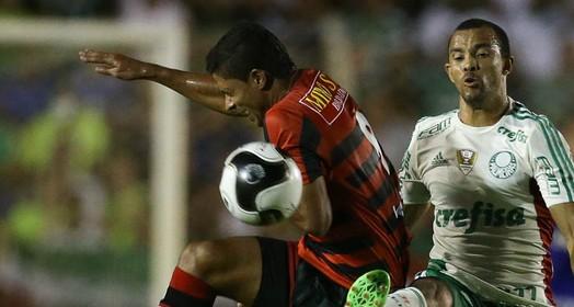faltou inspiração (Cesar Greco/Ag.Palmeiras/Divulgação)