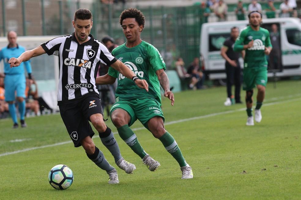 Rodrigo Pimpão Botafogo x Chapecoense (Foto: MARCIO CUNHA/ESTADÃO CONTEÚDO)