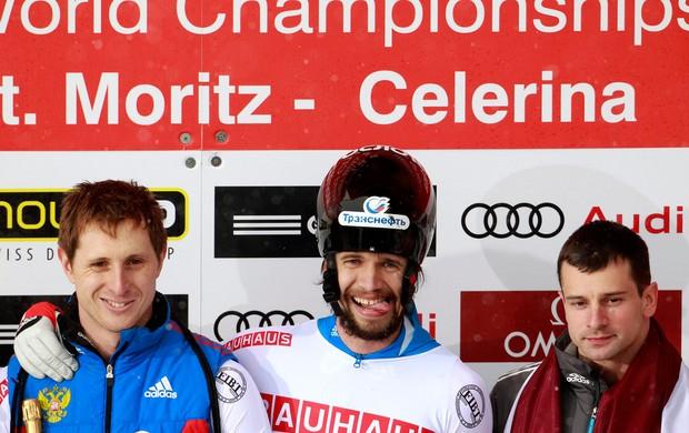 Alexander Tretyakov skeleton olimpiadas inverno (Foto: Reuters)