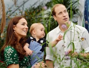 Principe William e Kate Middleton  (Foto: AKM-GSI BRASil / Splash News)