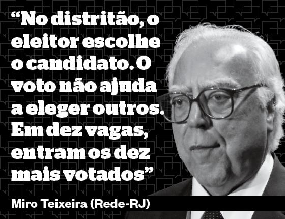 Miro Teixeira, advogado, é deputado federal (Rede-RJ). Foi ministro do governo Lula (Foto: Adriana Spaca/Brazil Photo Press)