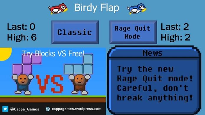 Birdy Flap (Foto: Reprodução)