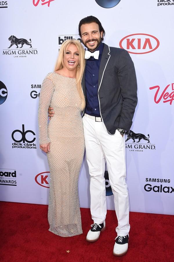 A cantora Britney Spears e seu produtor e ex-namorado (Foto: Getty Images)