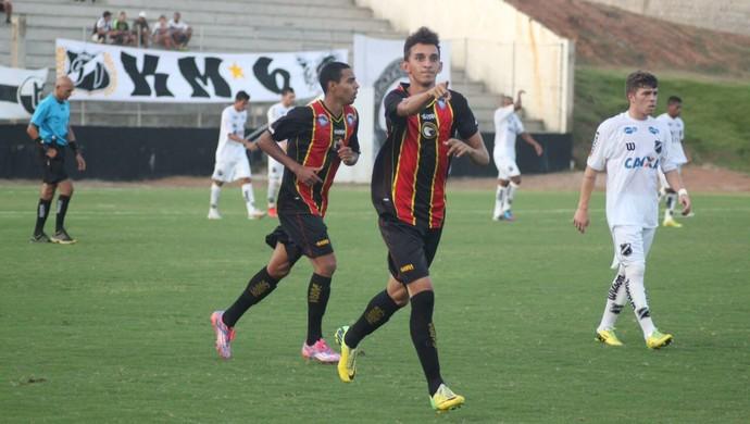 André - atacante do Globo FC (Foto: Kaline Rodrigues/Divulgação)