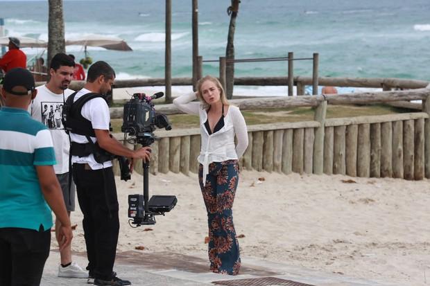 Angélica grava Estrelas com o cantor Leonardo (Foto: AgNews  / AgNews)