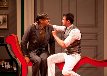 """Darson Ribeiro e Olivetti Herrera estão na peça """"Homens no Divã"""" (Foto: divulgação)"""