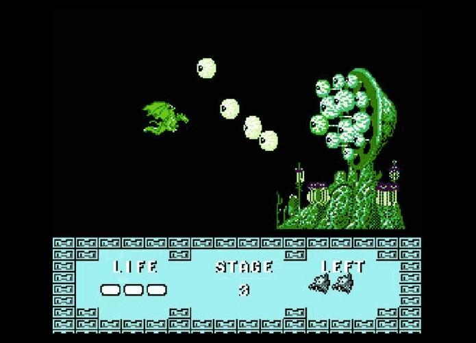 Versão não oficial para NES tinha mais fases que o original (Foto: Reprodução / Dario Coutinho)