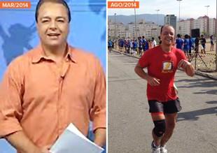 euatleta minha historia Pedro Vieira TV antes depois (Foto: EU ATLETA)