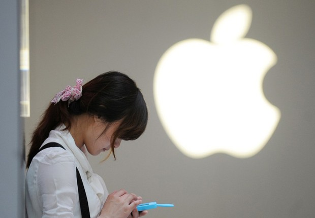 Loja da Apple na China (Foto: Peter Parks/Getty Images)