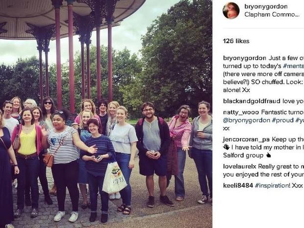 Estudo de Harvard aponta que Instagram pode ajudar a detectar sinais de problemas mentais  (Foto: @bryonygordon)