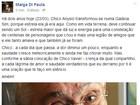 Malga Di Paula lembra de Chico Anysio: 'Saudade me faz chorar'