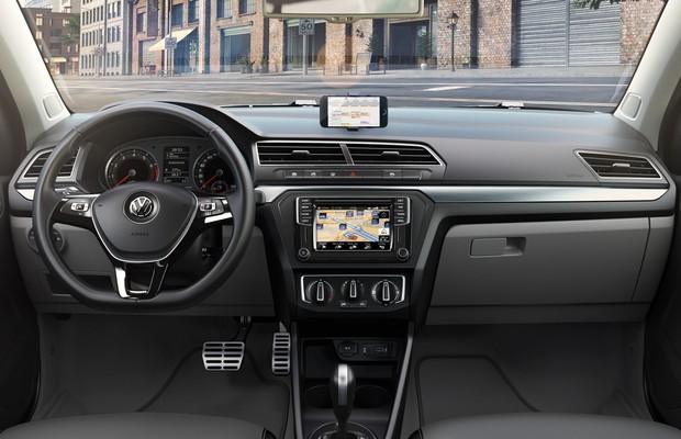 Volkswagen revela o interior dos novos gol e voyage por for Interior gol trend 2018