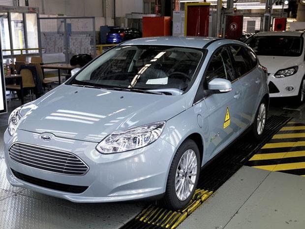 Focus Electric começa a ser produzido na fábrica de Saarlouis, na Alemanha (Foto: Divulgação)