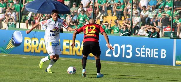 Fabinho Gaúcho lateral Chapecoense Sport (Foto: Aguante Comunicação / Chapecoense)