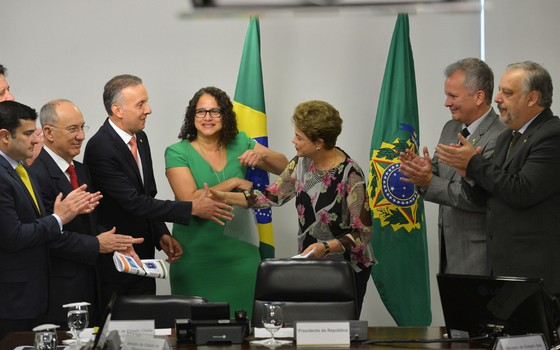 Base governista assina carta aberta em repúdio a impeachment de Dilma Rousseff (Foto: José Cruz / Agência Brasil)