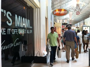 Shopping em Miami (Foto: Flávia Mantovani/G1)