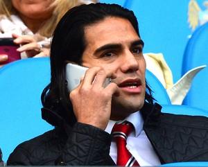 Falcao Garcia, Manchester City X Manchester United (Foto: Agência AFP)