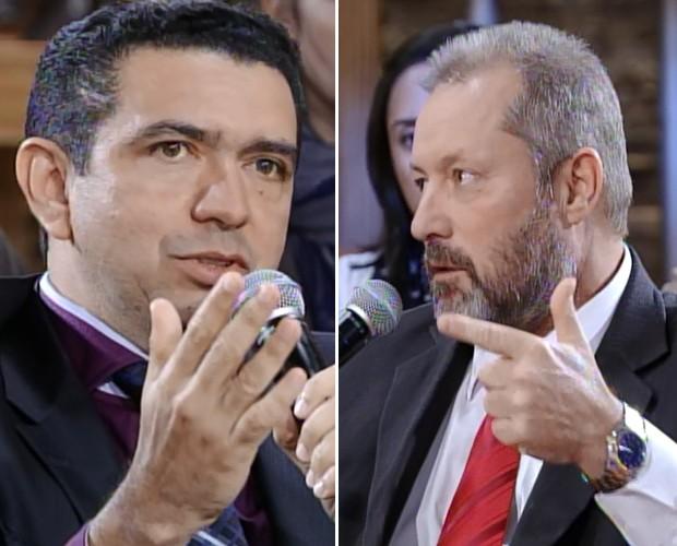 Juízes debatem no Na Moral (Foto: Na Moral/TV Globo)