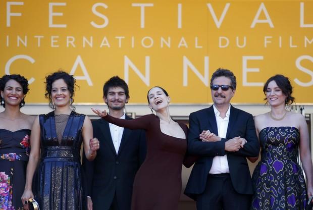 Elenco do filme Aquarius (Foto: Reuters)