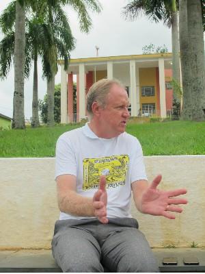 Prefeito eleito em Eldorado, SP, fala sobre novo governo  (Foto: Anna Gabriela Ribeiro/G1)