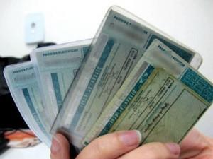 CNH carteira de motorista (Foto: G1)