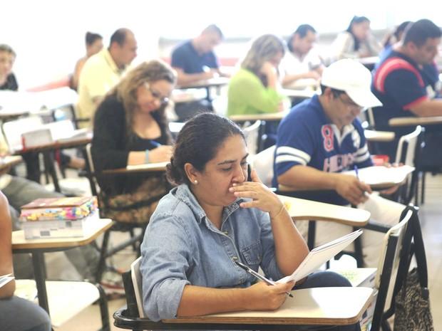 Candidatos realizam prova da OAB em Manaus (Foto: Divulgação/OAB-AM)