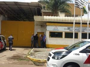 40 menores fugiram da Fundação Casa em Piracicaba (Foto: Claudia Mourão/EPTV)