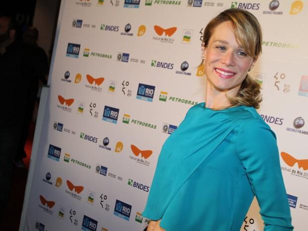 Mariana Ximenes em pré-estreia de filme no Rio (Foto: Anderson Borde e Felipe Assumpção/ Ag. News)