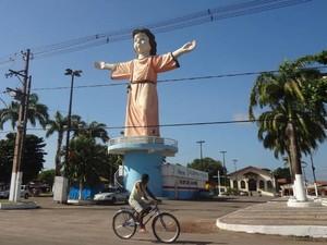 Cidade de Marituba tem cerca de 65 mil eleitores. Pará (Foto: Thais Rezende/G1)