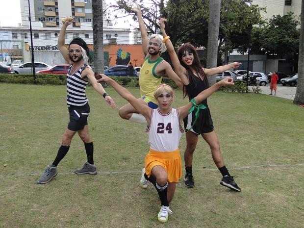 Grupo organizou o campeonato na Praça Floriano Peixoto (Foto: Thais Pimentel/G1)