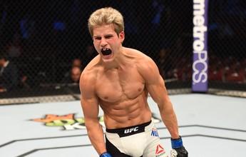 Aos 19 anos, promessa estreia no UFC com nocaute em menos de um minuto